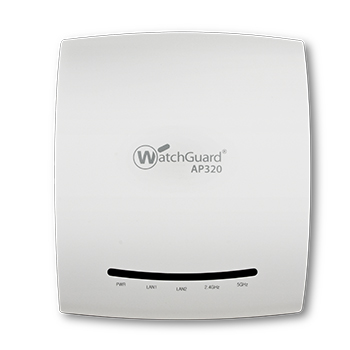 watchguard ap320 indoor 3x3 mimo dual radio access point
