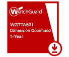 WatchGuard Dimension Command 1-yr for Tabletop Appliance
